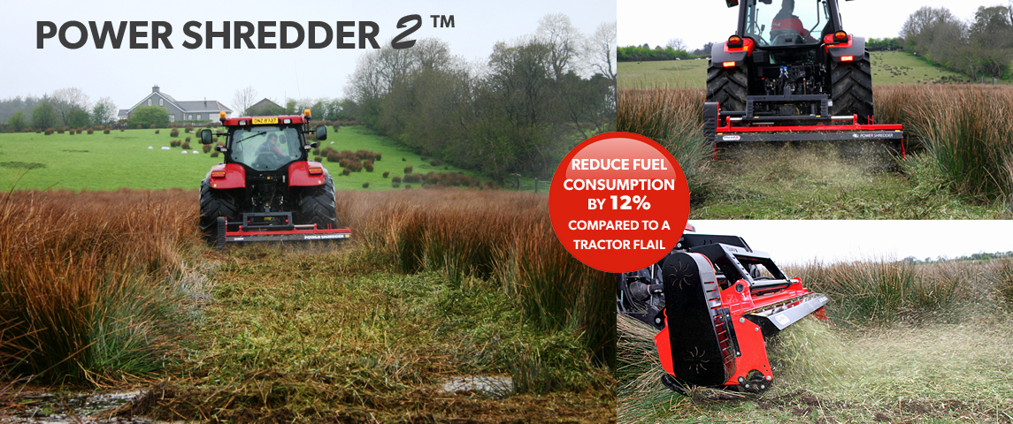 Blaney have pioneered mowers for a fine chop in extreme conditions without the need for big HP!!