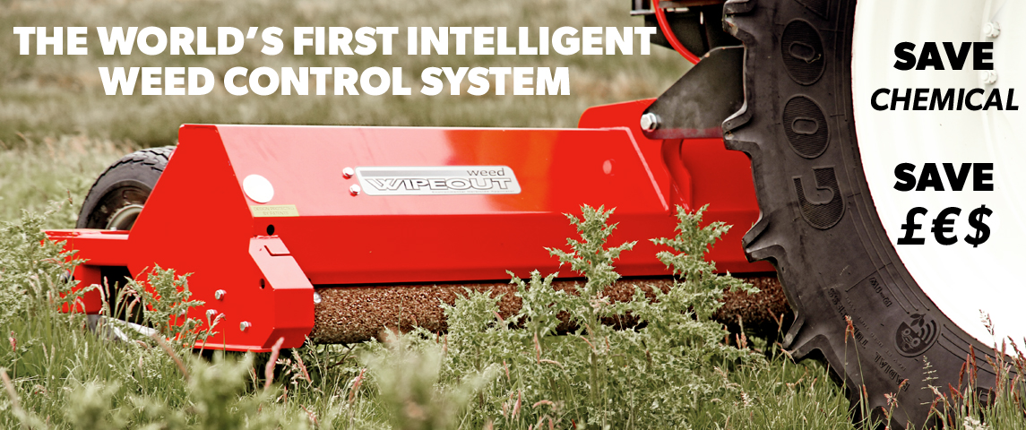 The World's First Intelligent Weed Control System