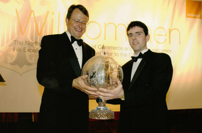 Management & Leadership Award, 2003