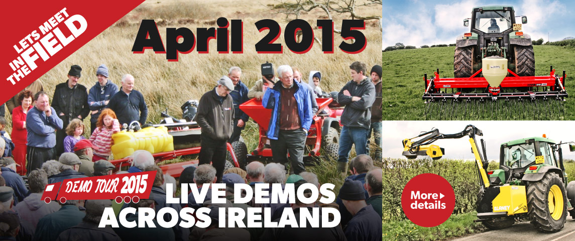 Blaney Demo Tour 2015 - Let's meet in the field!