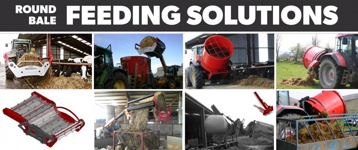 Round Bale Feeding Solutions!!