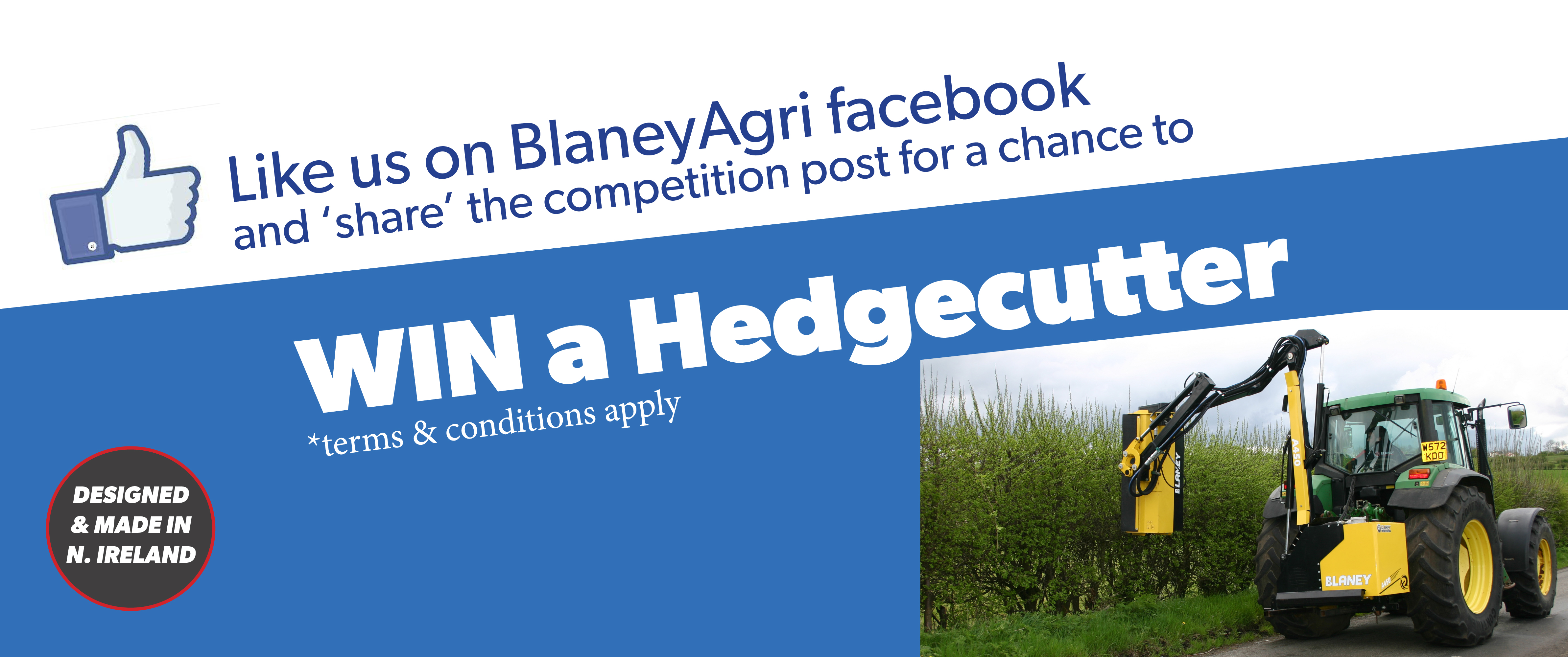 Win a Hedgecutter