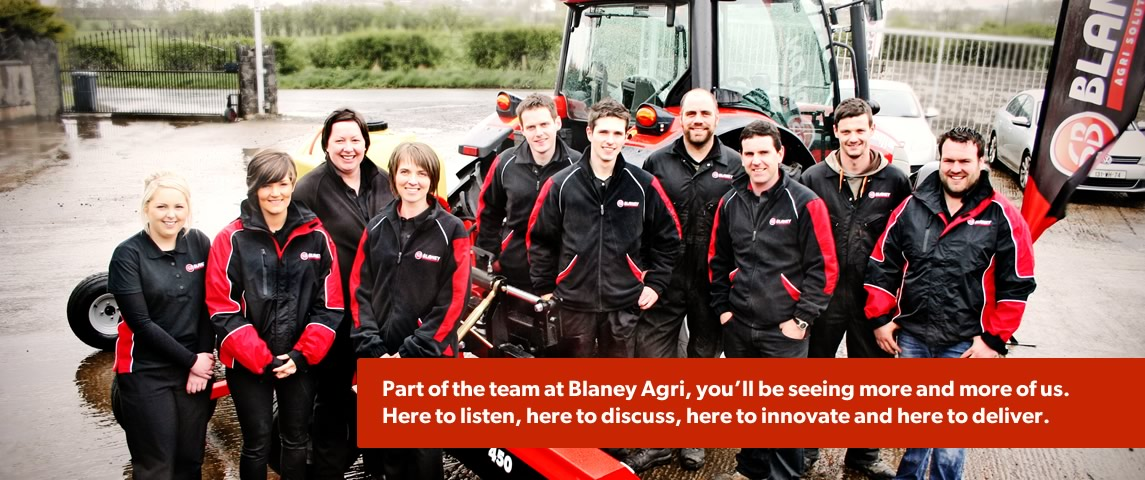 Part of the Blaney Agri Team