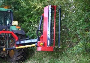 3 in 1 power shredder cutting hedge