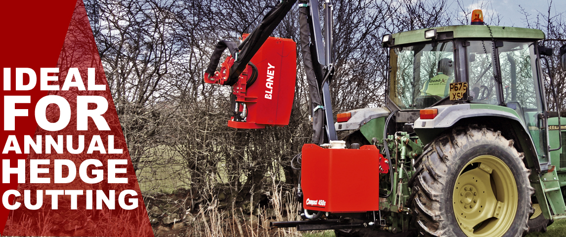 Ideal for annual hedgecutting duties.
