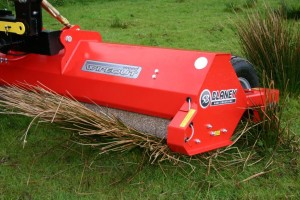Blaney Agri weed wiper double roller