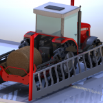 unroller for silage bales