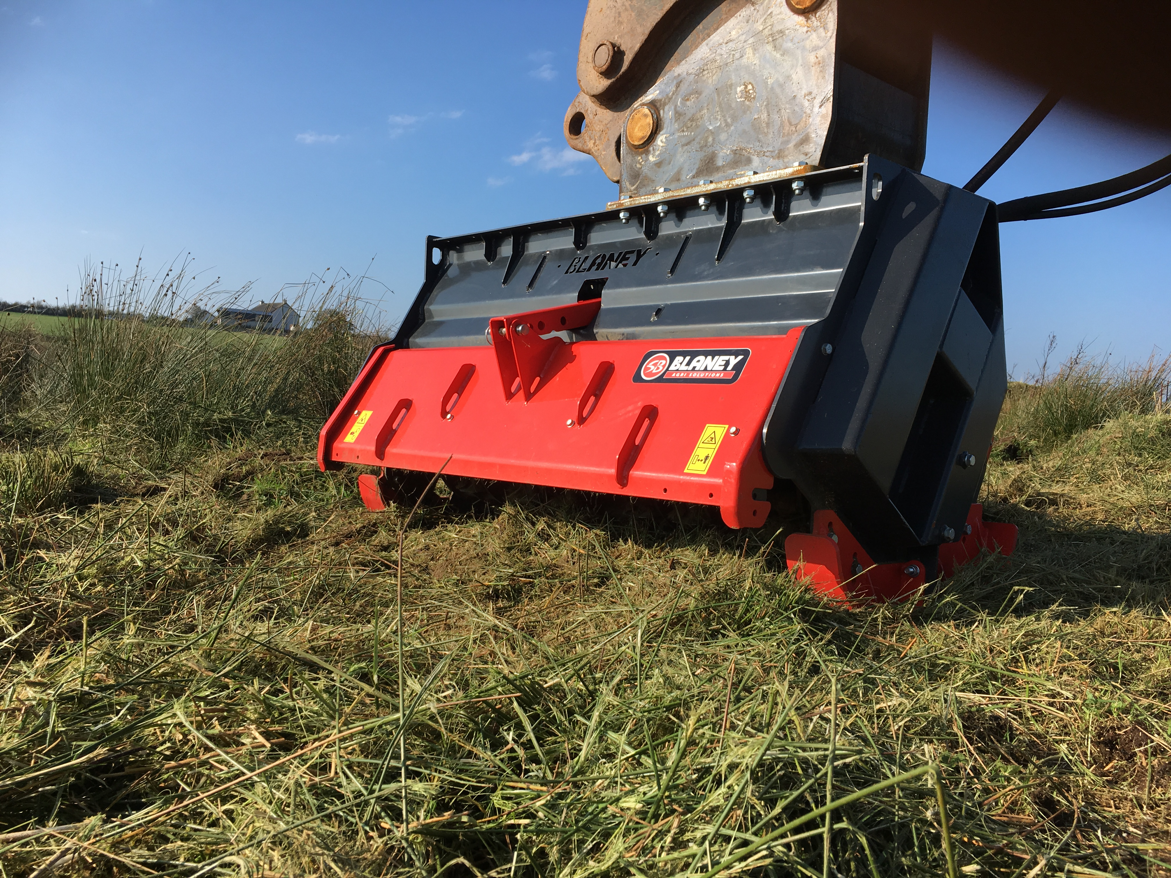 Hedge Cutter – Excavator/Digger