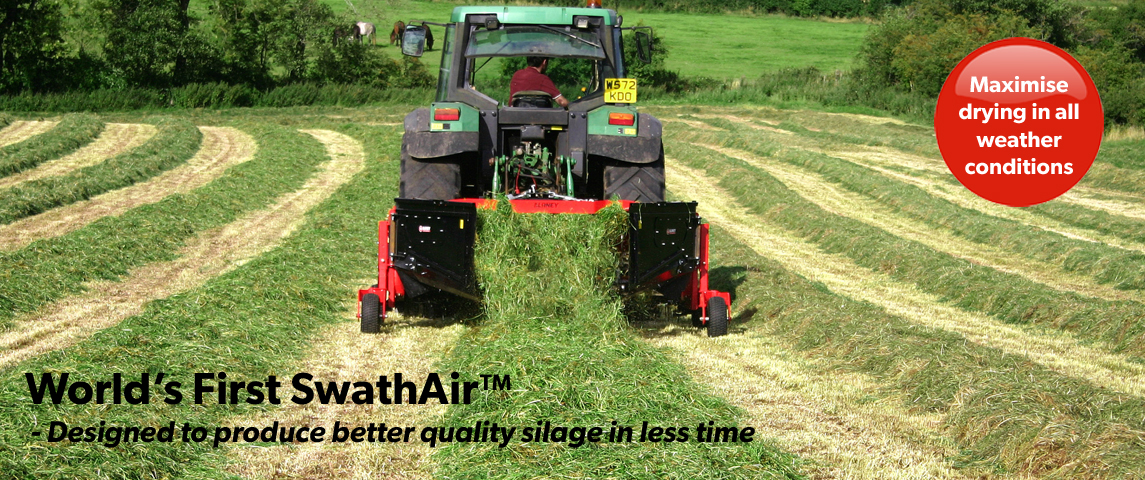 Designed to produce better quality silage in less time!