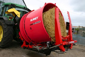 Bale Shredder Loaded