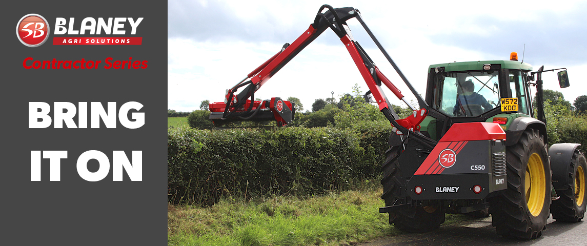 Contractor Series Hedge Cutter 5.5m /6.5m reach