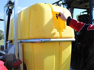 Additional Hand Wash Tank as standard
