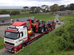 Emyr Evans demo fleet