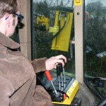 cable controls hedgecutter