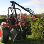 Blanry fingerbar compact hedgecutter